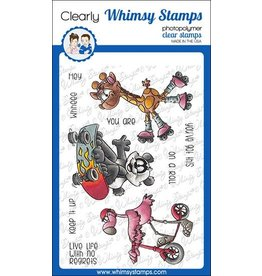 Whimsy Stamps Whimsy Stamps On a Roll Clear Stamps