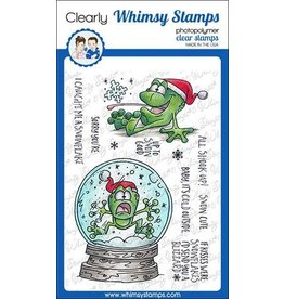 Whimsy Stamps Whimsy Stamps Toadally Snowy Clear Stamps