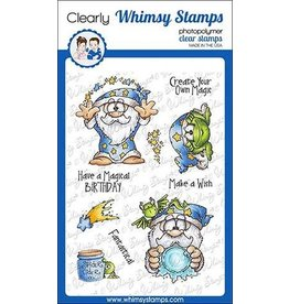 Whimsy Stamps Whimsy Stamps Create Magic Clear Stamps