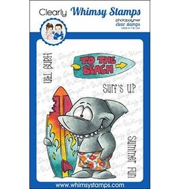 Whimsy Stamps Whimsy Stamps Surf Shark Clear Stamps
