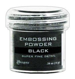 Ranger Ranger Embossing Powder 34ml - super fine black EPJ37392