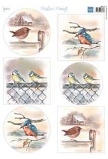 Marianne Design Marianne D Decoupage Mattie's Mooiste - Vogels in de winter MB0197 A4