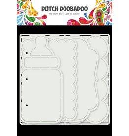 Dutch Doobadoo Dutch Doobadoo Card Art Baby album 5 set 470.784.021 150x150mm