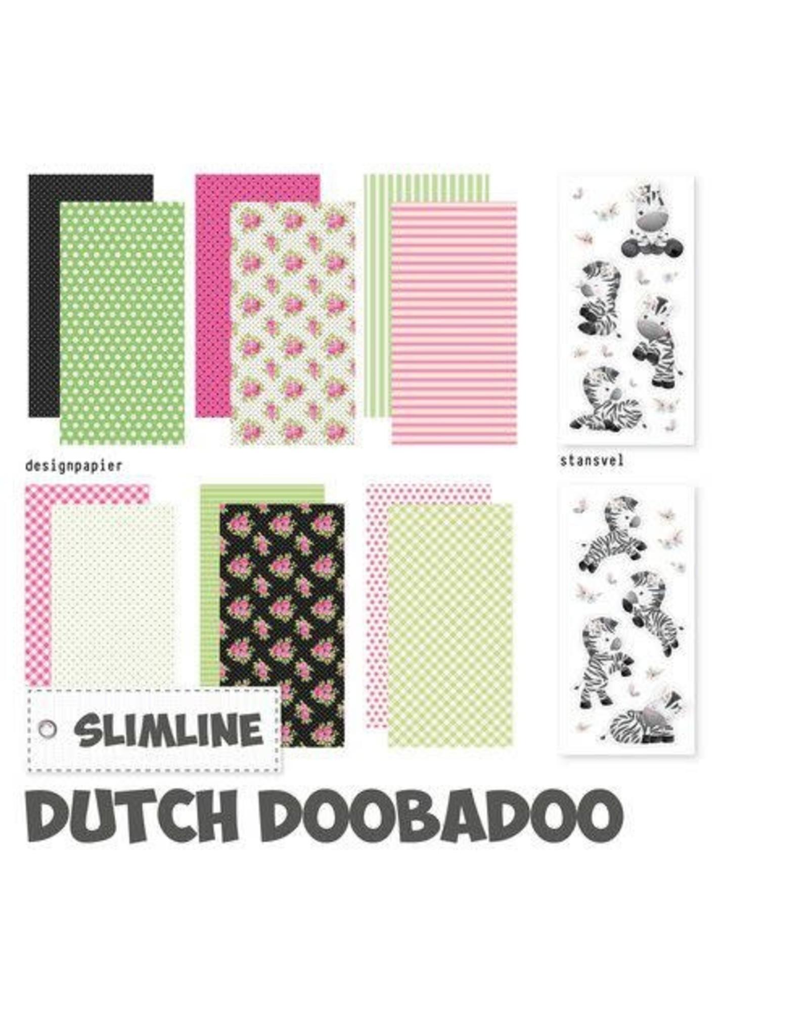 Dutch Doobadoo Dutch Doobadoo Crafty Kit Slimline Zebra 473.005.016