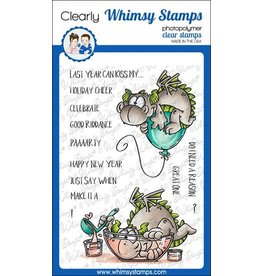 Whimsy Stamps Whimsy Stamps Dragon new Year  DP1054