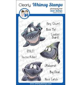 Whimsy Stamps Whimsy Stamps Lookin'Shark DP1067