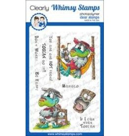 Whimsy Stamps Whimsy Stamps  Tropical Toucan DP1074