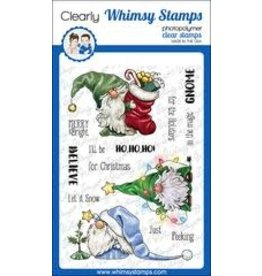 Whimsy Stamps Whimsy Stamps  Gnome for the holidays C1366