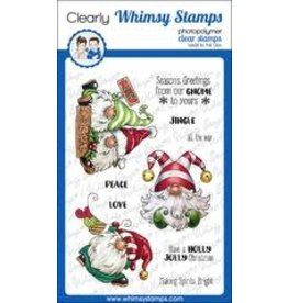 Whimsy Stamps Whimsy Stamps  Gnome for  Christmas C1365