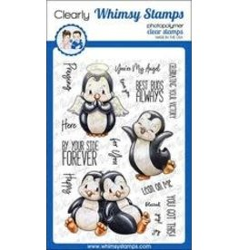 Whimsy Stamps Whimsy Stamps  Penguin Lean on me C1340
