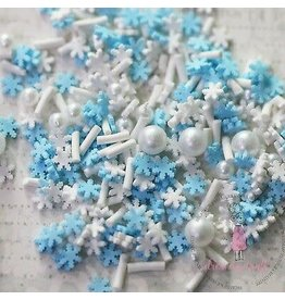 dress my craft Dress My Crafts Shaker Elements snowflakes mix