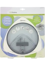 Craft Emotions CraftEmotions Easy circle cutter - cirkelsnijder 2,5 - 15cm