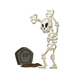 Sizzix Sizzix Thinlits Die Set 9PK - Mr. Bones, Colorize 665554 Tim Holtz