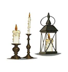Sizzix Sizzix Thinlits Die Set 14PK - Candlelight, Colorize 665552 Tim Holtz