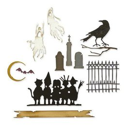Sizzix Sizzix Thinlits Die Set 11PK - Vault Series: Halloween 2021 665563 Tim Holtz