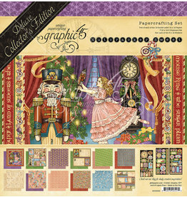 Graphic 45 Graphic 45 Nutcracker Sweet 8 x 8 paperpad