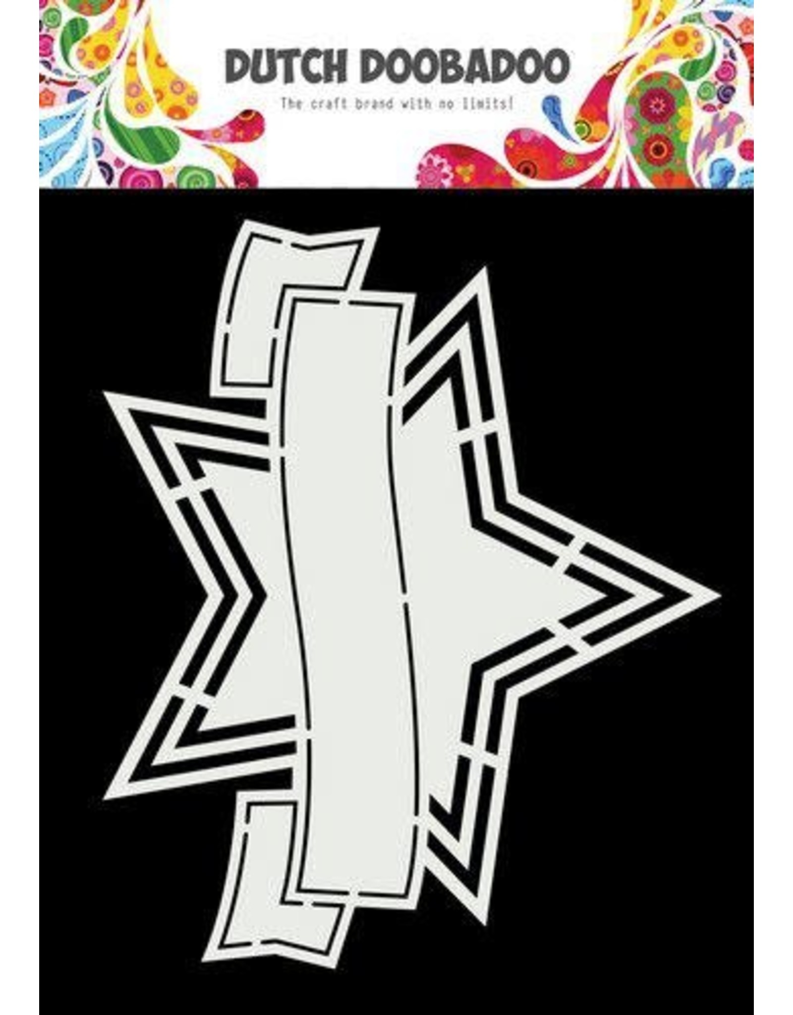 Dutch Doobadoo Dutch Doobadoo Shape Art Banner ster 470.784.041 175x145mm