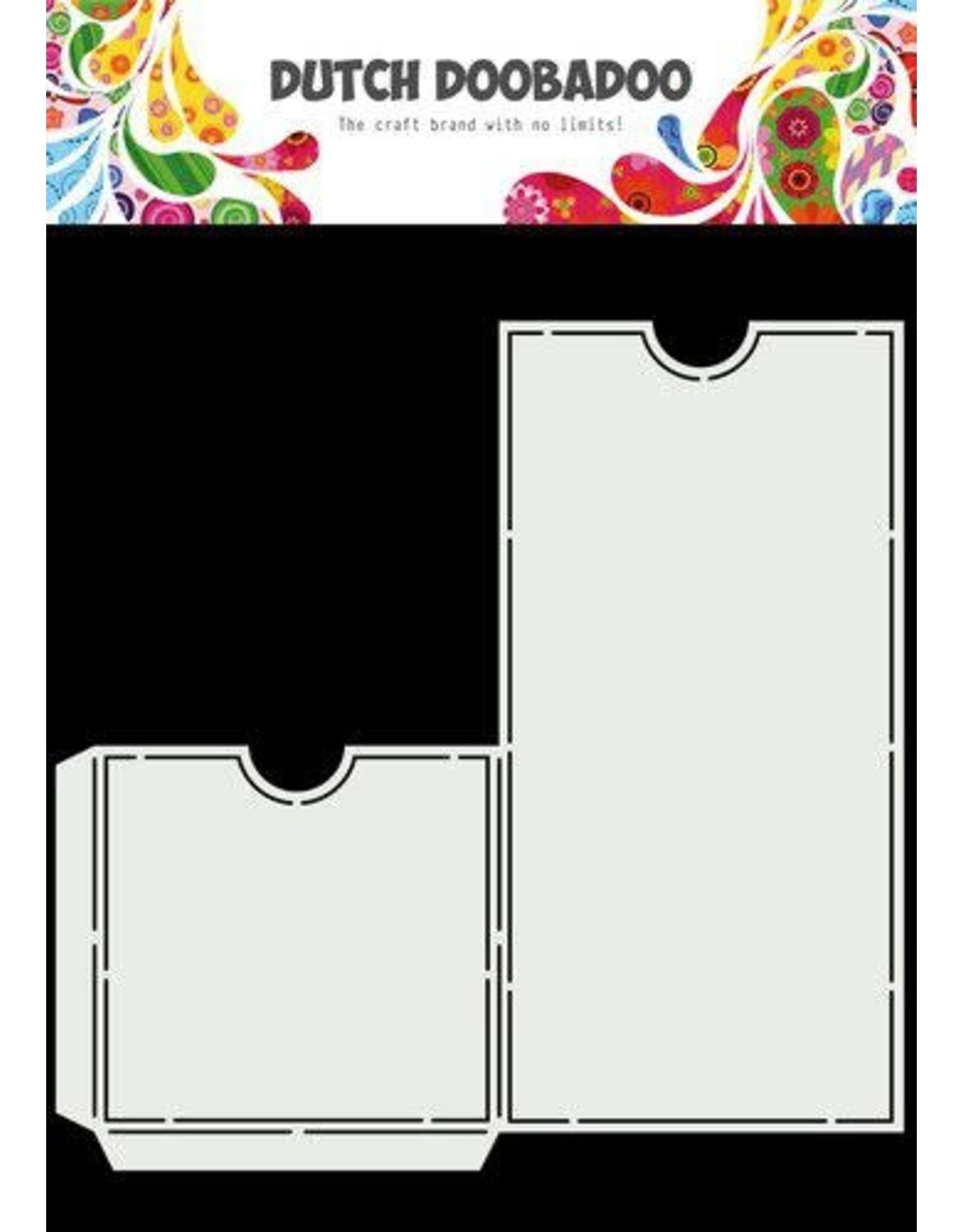Dutch Doobadoo Dutch Doobadoo Slimline Label Pocket 470.784.043 210x220mm