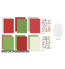 Dutch Doobadoo Dutch Doobadoo Crafty Kit Rudolph 473.005.017 A5