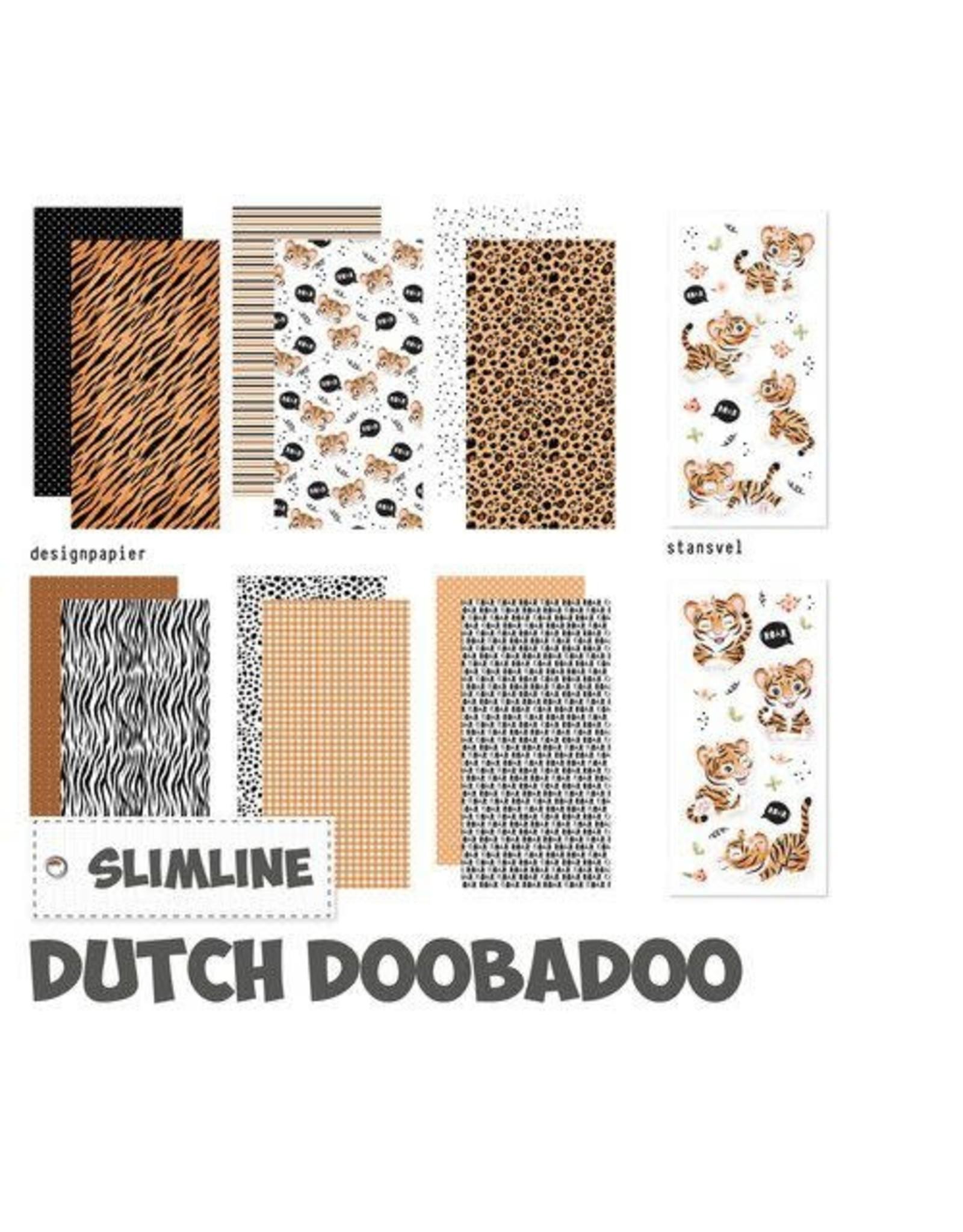 Dutch Doobadoo Dutch Doobadoo Crafty Kit Slimline Wild about you 473.005.018 10,5x21cm