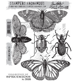 Stampers Anonymous Stampers Anonymous Tim Holtz Cling Mount Stamps -Specimen CMS410