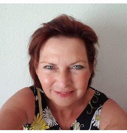 Zaterdag 20 november gelliplate workshop olv Marianne Swijnenburg