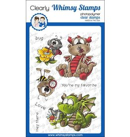 Whimsy Stamps Whimsy Stamps Garden Dragons DP1075