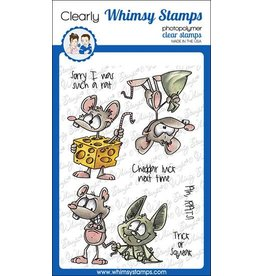 Whimsy Stamps Whimsy Stamps  Rat Attack DP1078