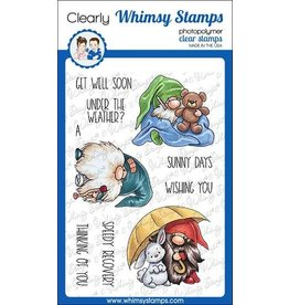Whimsy Stamps Whimsy Stamps  Gnome get well C1111a