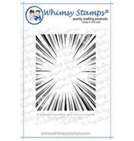 Whimsy Stamps Whimsy Stamps  Burst Background DDB0041