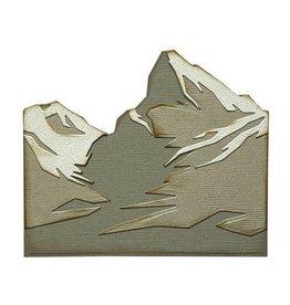 Sizzix Sizzix Thinlits Die Set 6PK - Mountain Top 665580 Tim Holtz