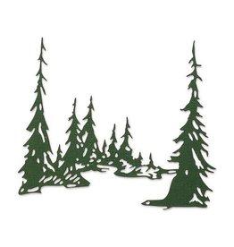 Sizzix Sizzix Thinlits Die - Tall Pines 665583 Tim Holtz