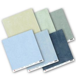 Craft & You Craft&You Ice paper - Base Paper Set 12x12 6 vel CPS-IPBASE30