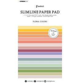 Studio Light Studio Light Paper pad Essentials Slimline Floral SL-ES-PP33 115x220mm