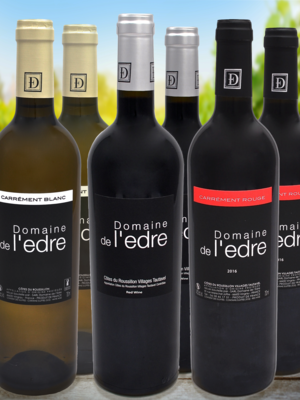 Degustations-Set «Domaine de l'Edre» (6er Set)