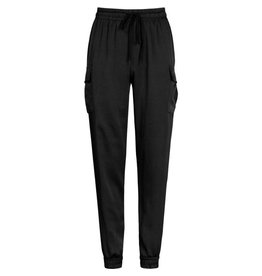 Imperium Looks CARGO PANTS SATIN BLACK