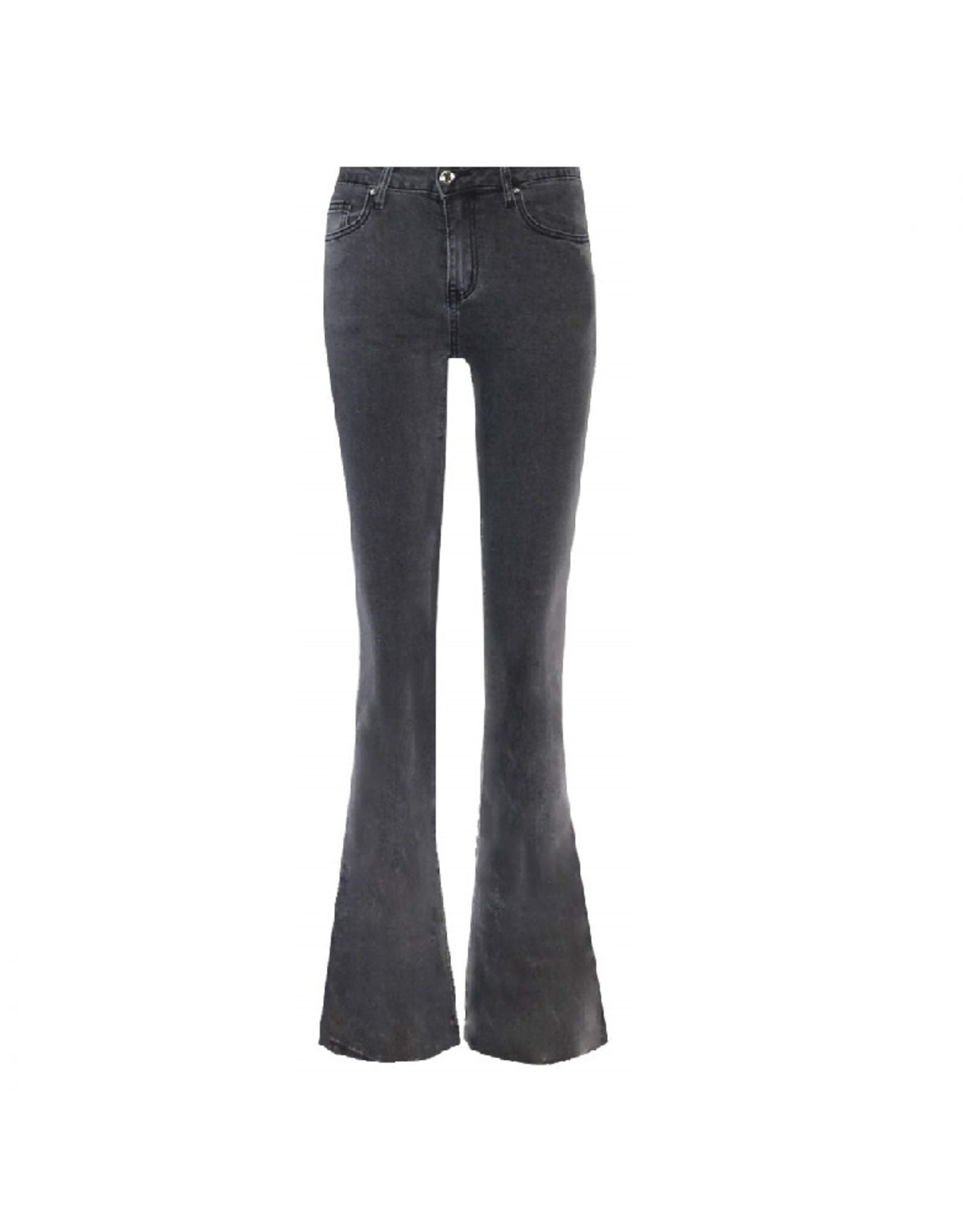 Imperium Looks FLARED PANTS DENIM GREY