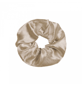 Imperium Looks SHINY SCRUNCHIE CHAMPAGNE