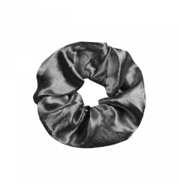Imperium Looks SHINY SCRUNCHIE SILVER