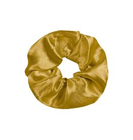 Imperium Looks SHINY SCRUNCHIE GOLD