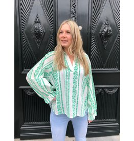 Imperium Looks FAIRYTALE BLOUSE GREEN