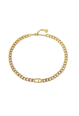Imperium Looks NECKLACE CD GOLD LONG