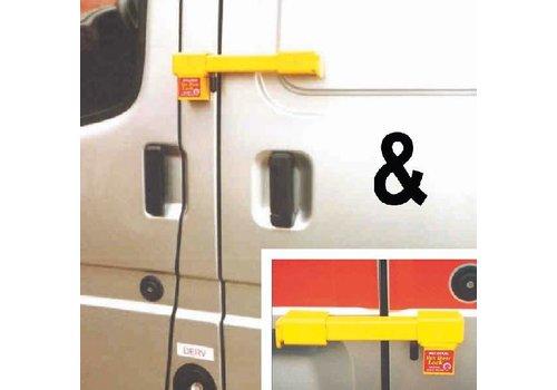 Bulldog Set bestelwagensloten (achterdeur & zijdeur)