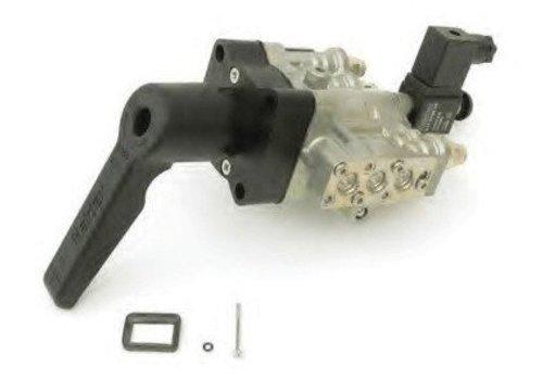 Haldex Hef- en daalventiel (met dodemanshendel en auto. terugstelling naar rijhoogte)