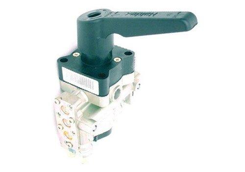 Haldex Hef- en daalventiel (met dodemanshendel, zonder automatische terugstelling naar de rijhoogte)