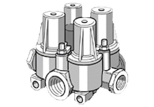 Knorr vierkrings beveiligingsventiel, M22x1,5, DAF/Volvo