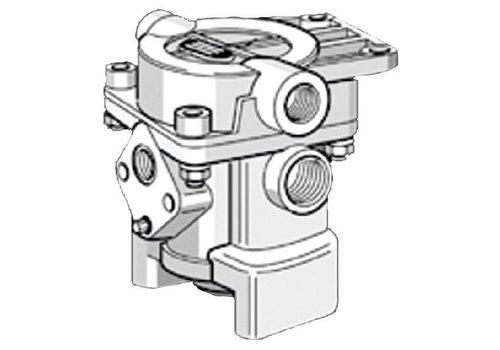 Knorr aanhangwagen remventiel, M22x1,5 + M16x1,5, zonder losklep