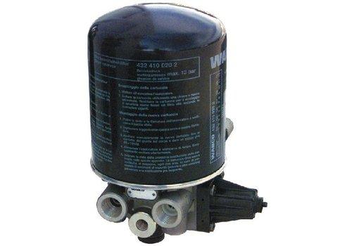 Wabco luchtdroger 1-kamer met geïntegreerde drukregelaar, onverwarmd