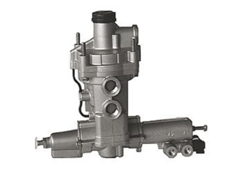 Wabco ALR- aanhangwagenremklep (pneumatisch), 3 x M22x1,5, 3 x M16x1,5 en 2 x M12x1,5