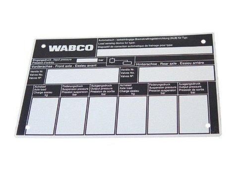 Wabco ALR controleschild, voor luchtvering